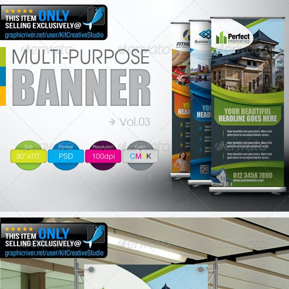 Multipurpose Banner Vol.3