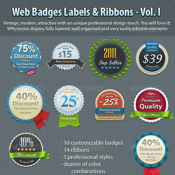 Badges Vol. 1
