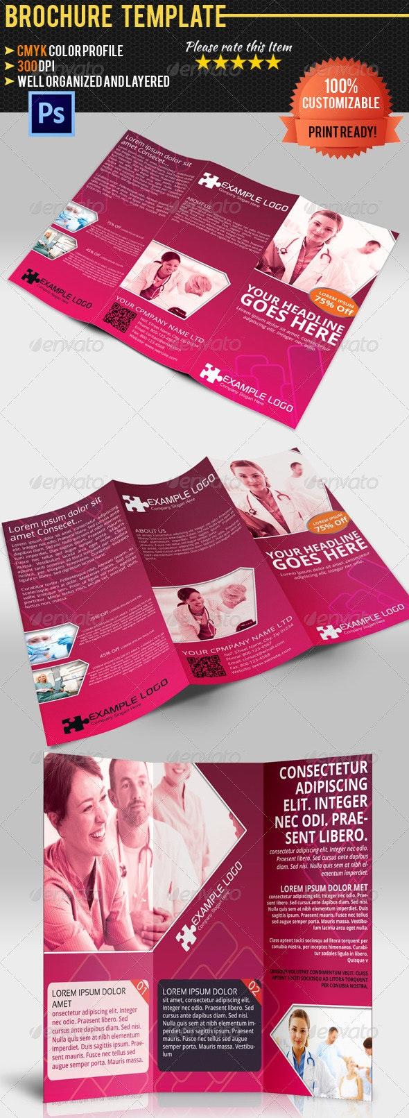 Tri-Fold Medical Brochure - Corporate Brochures