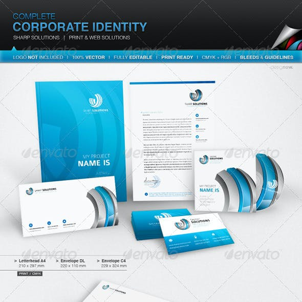 Corporate Identity - Sharp Solutions