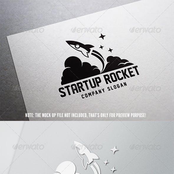 Start Up Rocket Logo