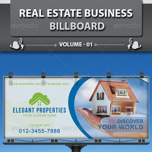 Real Estate Business Billboard | Volume 2