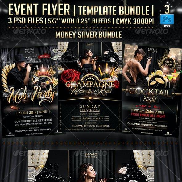 Event Flyer Template Bundle