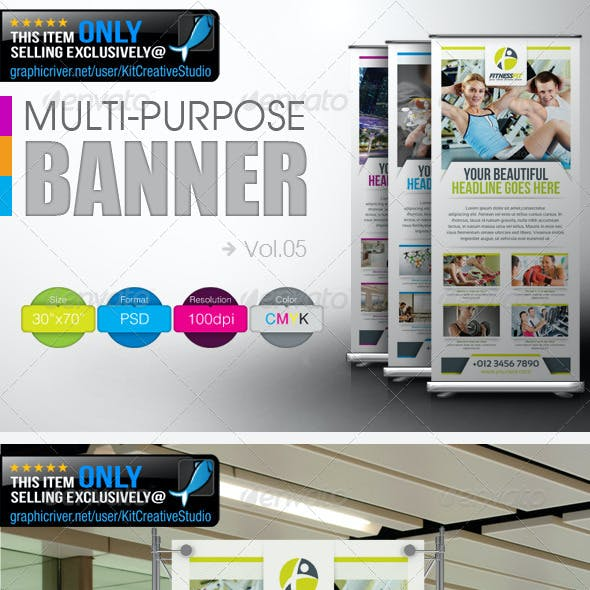 Multipurpose Banner Vol.5