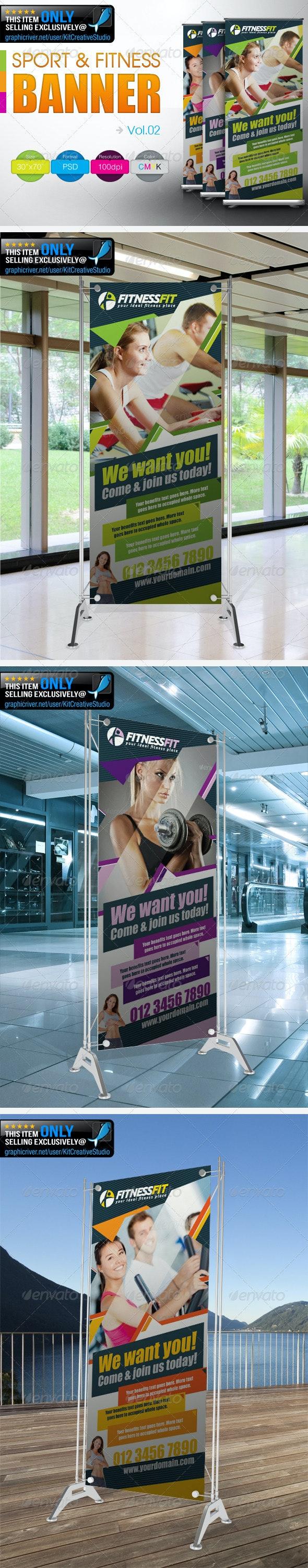 Fitness Banner Vol.2