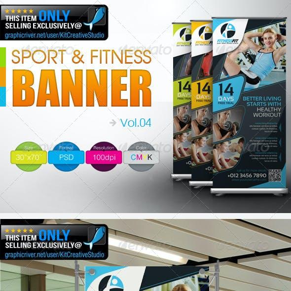 Fitness Banner Vol.4