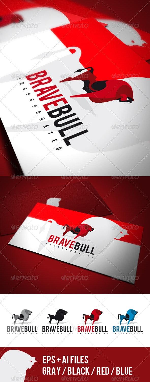 Brave Bull Logo - Animals Logo Templates