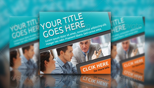 Multipurpose Corporate Banner Set Vol.3 - Banners & Ads Web Elements