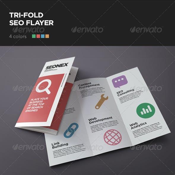 Tri Fold SEO Flyer