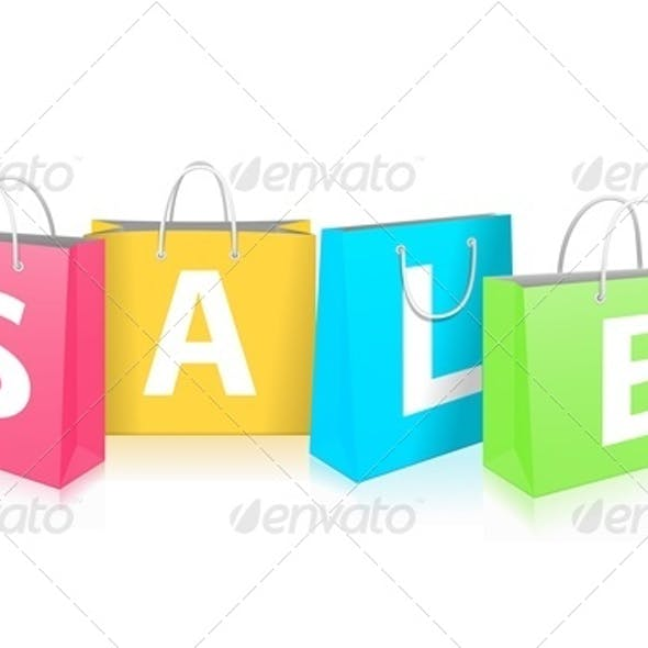 Sale on Shopping Bags