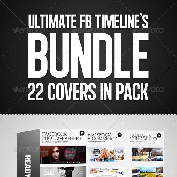 Facebook Timelines Bundle V4