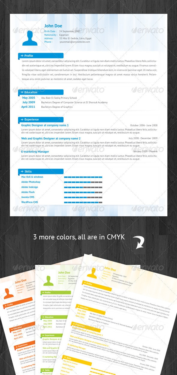 Abstract Resume - Resumes Stationery