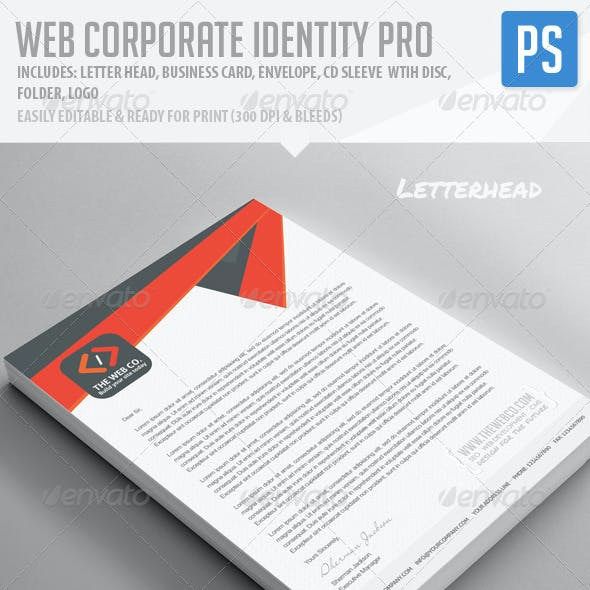 Web Corporate Identity Pro