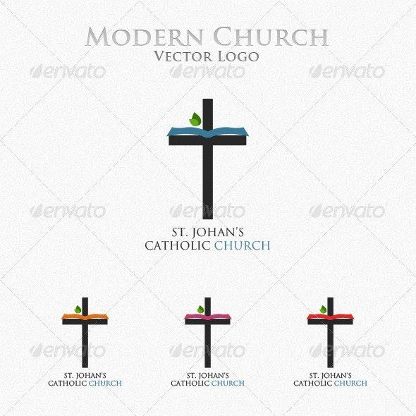 Church Logo - Symbols Logo Templates