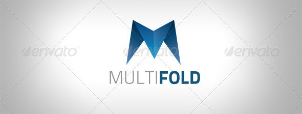 Multifold Logo Template - Vector Abstract