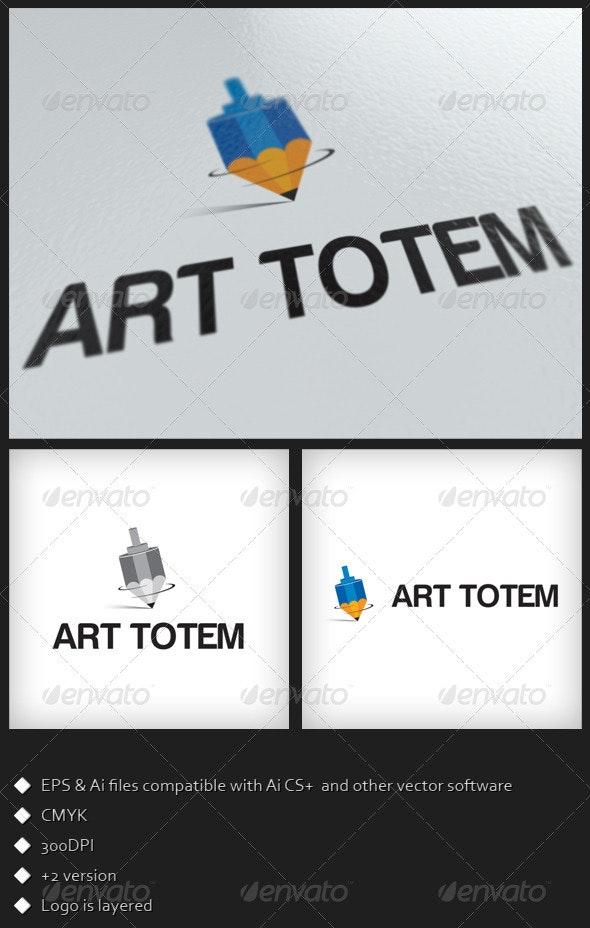 Art Totem Logo Template - Objects Logo Templates