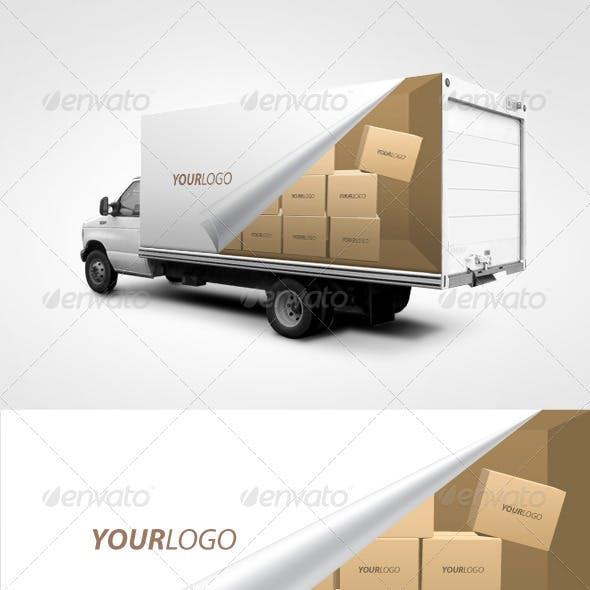 Truck Branding Template