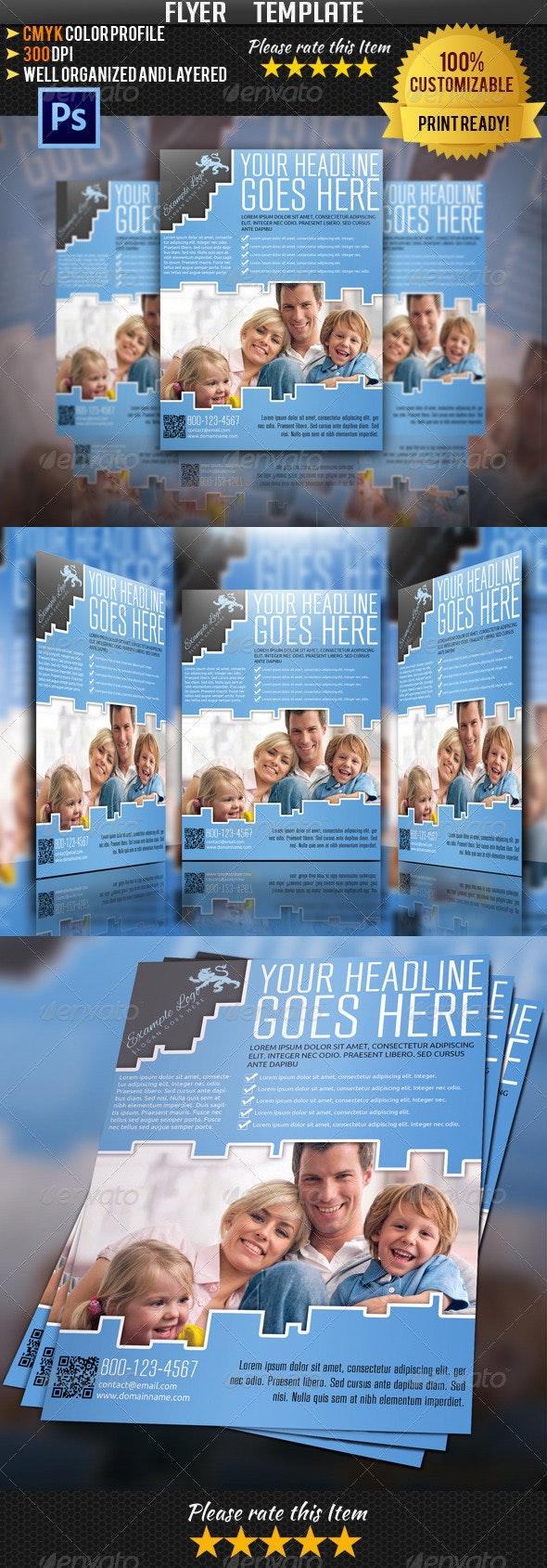 Insurance Flyer Template 02 - Commerce Flyers