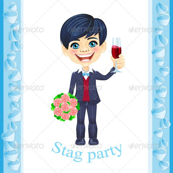 Stag Party Invitation