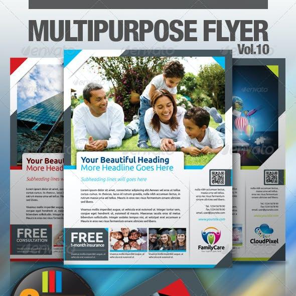 Multipurpose Business Flyer Vol.10