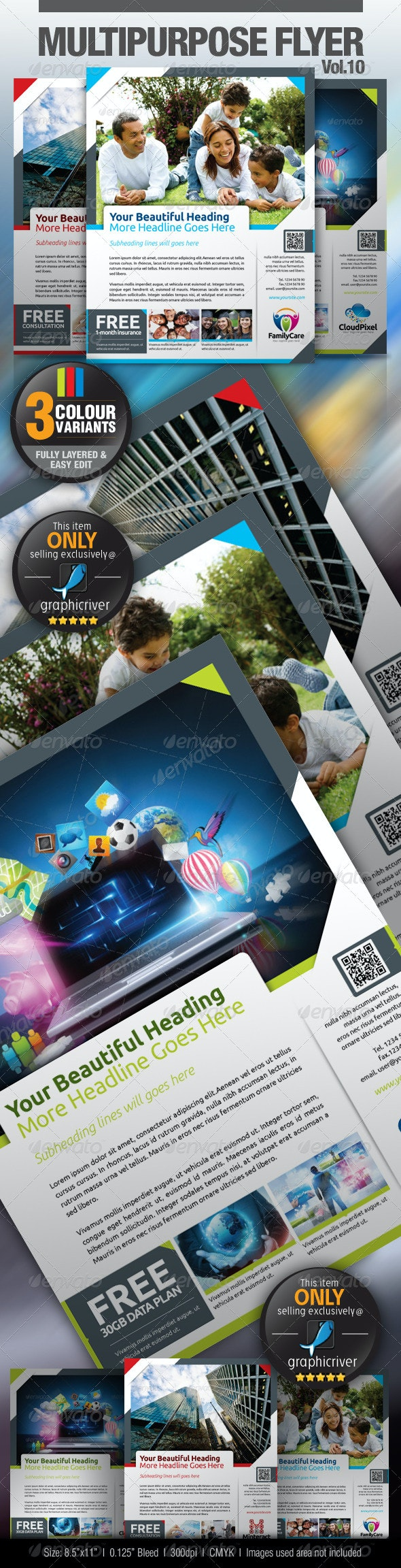 Multipurpose Business Flyer Vol.10 - Miscellaneous Events