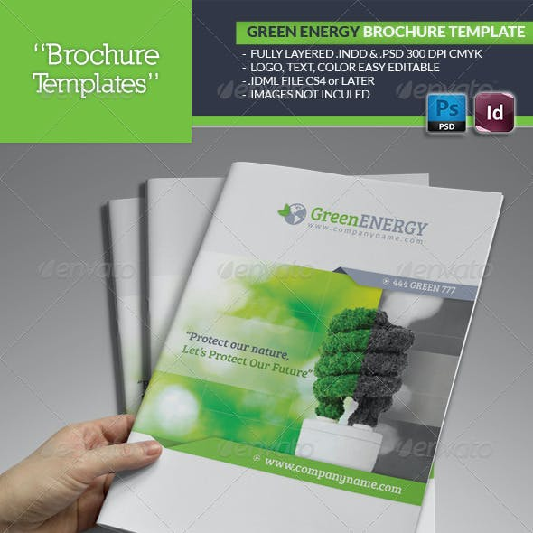 Green Energy Brochure Template