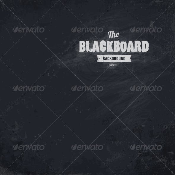 Blackboard Vector Background