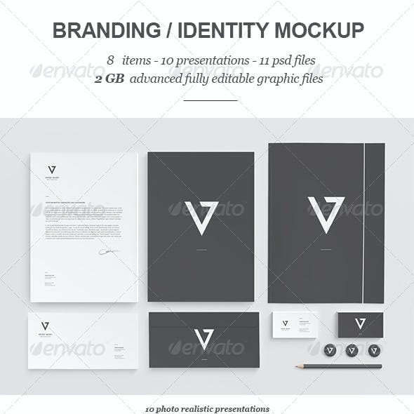 Branding / Identity Mock-up II