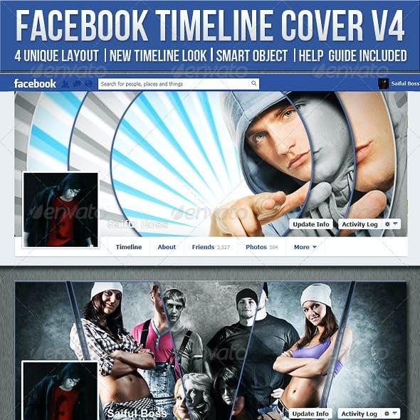 Facebook Timeline Cover V4