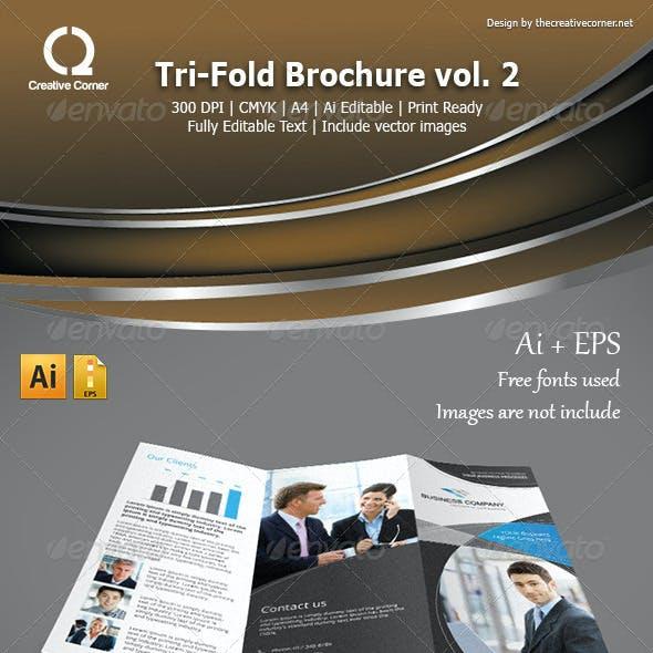 Multipurpose Tri-fold Brochure vol.2