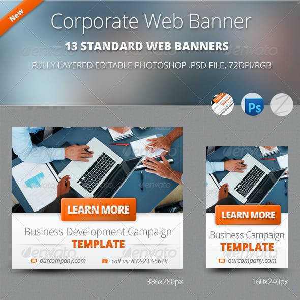 Business Corporate Web Banners