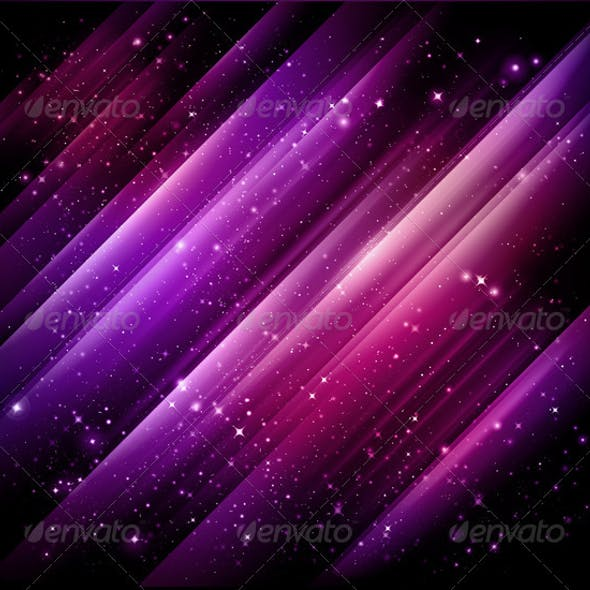 Abstract lights purple background - Vector + jpg