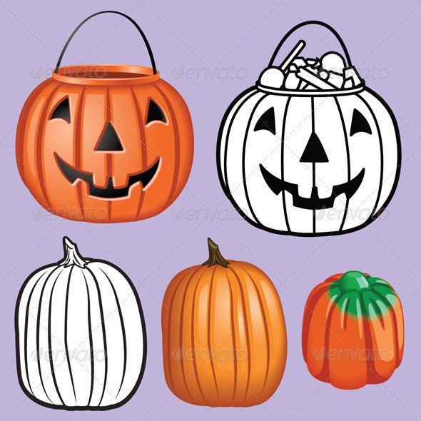 Pumpkin Pack - Halloween Seasons/Holidays