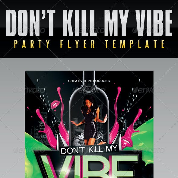 Vibe Party Flyer Template