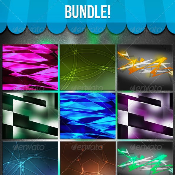 Shapes Abstract Bundle