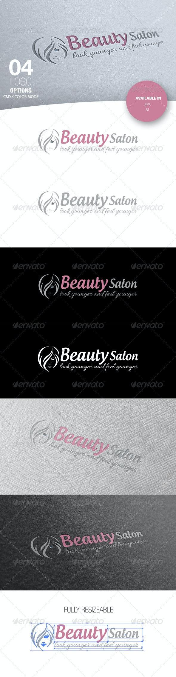 Beauty Salon Logo - Nature Logo Templates