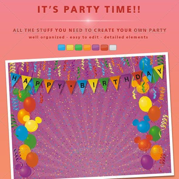 Kit Party Elements
