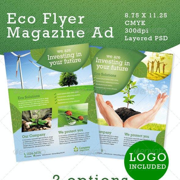Premium Eco Flyers