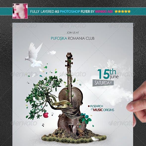 Music Eden Poster/Flyer
