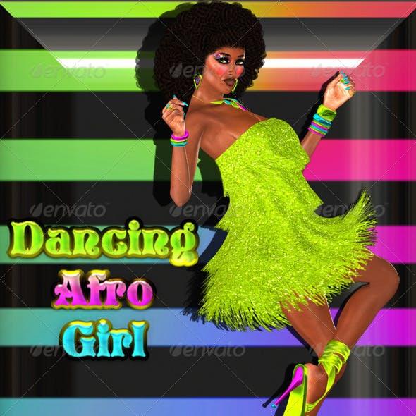 Dancing Afro Girl