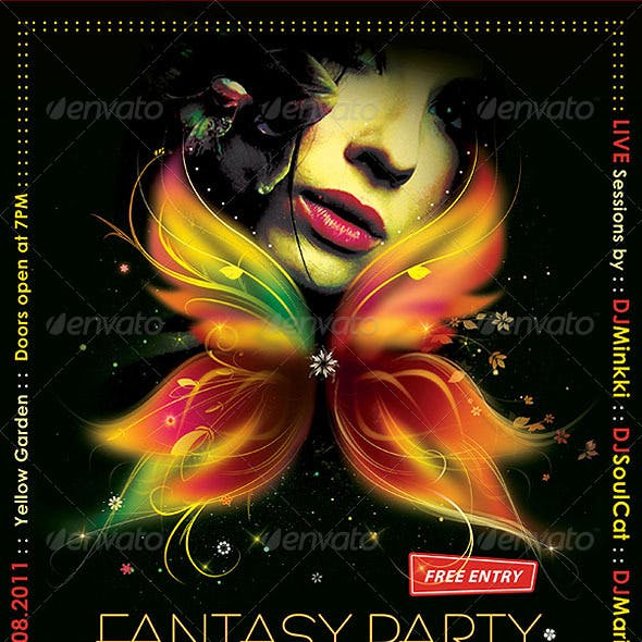 Fantasy Party Poster/Flyer