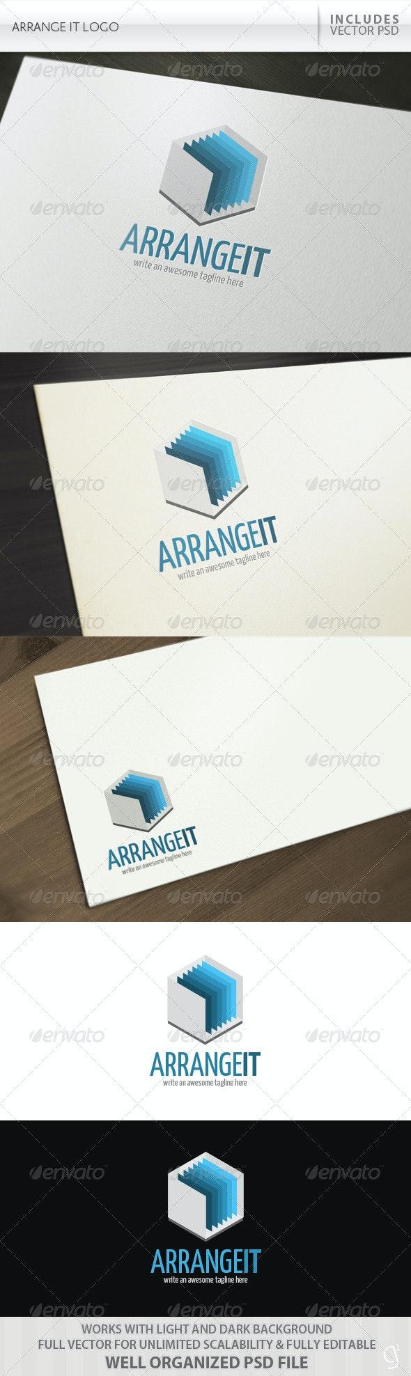 Arrange It Logo - Objects Logo Templates