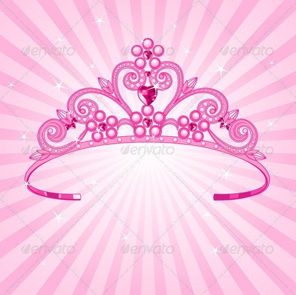 Princess Crown - Man-made Objects Objects