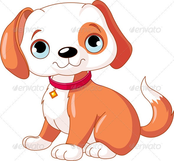 Cute Puppy - Animals Characters
