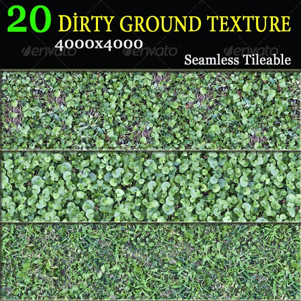 20 Dirty Ground Textures