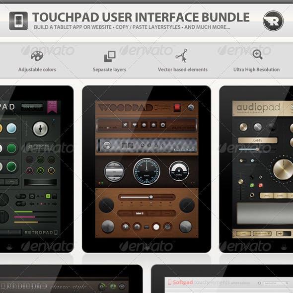 Touchpad User Interface Bundle