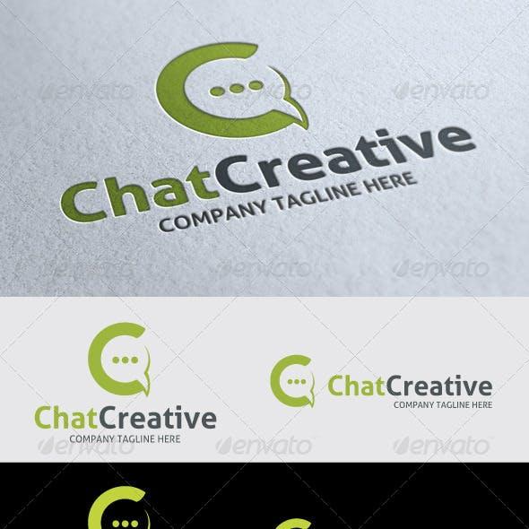 Chat C Letter Logo