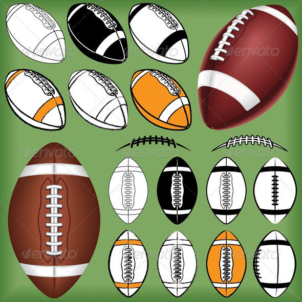 Football Pig Skin Pack - Sports/Activity Conceptual
