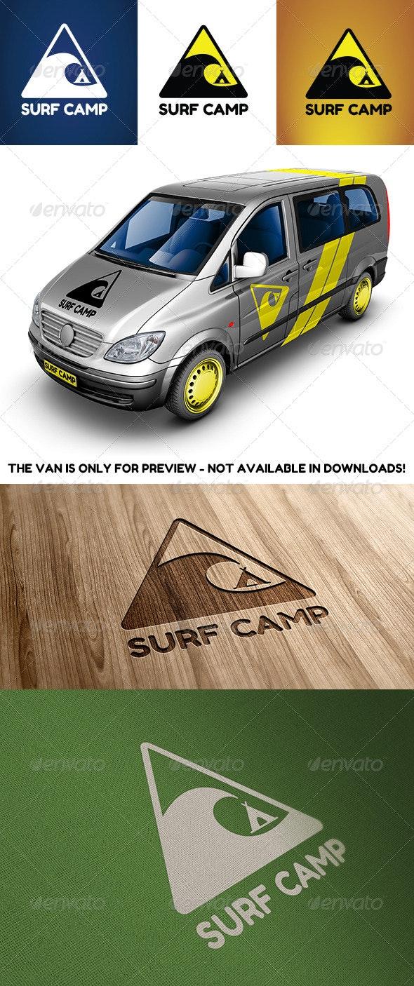 Surf Camp - Symbols Logo Templates