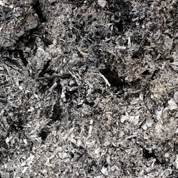 Grunge background, ashes